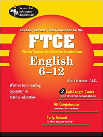 FTCE English 6-12 (FTCE Teacher Certification Test Prep)
