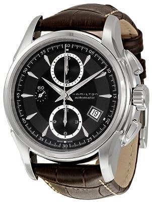 Hamilton Men's H32616533 Jazzmaster Black Dial Watch from Hamilton