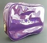 TARTE Purple Cosmetic/Brush Travel Case
