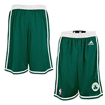 Adidas Boston Celtics Youth Replica Basketball Shorts by OuterStuff