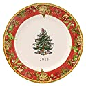 Spode Christmas Tree Annual Edition 2015 Collector Plate, Multicolor