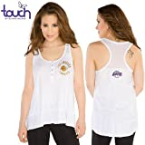 Los Angeles Lakers Touch by Alyssa Milano NBA Women's Cascade Tank Top L at Amazon.com