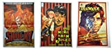 Prop It Up Set of 3 Vintage Bollywood Original Reprinted Posters (75 cmX50 cm)