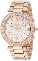Freelook Women's HA1539-RG Rose Gold-Tone Stainless Steel Watch