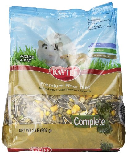 Kaytee Complete Mouse/Rat Food, 2-Pound (Mouse Food compare prices)