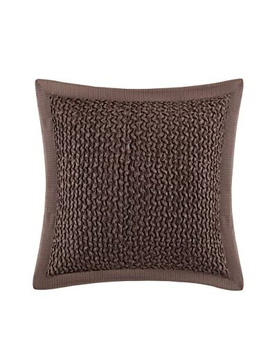 Metropolitan Home Eclipse Euro Sham, Brown