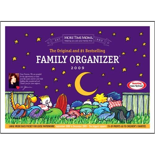 Family Organizer 2009 Pocket Wall CalendarB001D20KSG