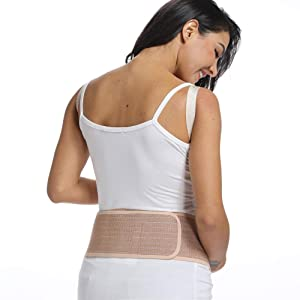 4175683a5e7f9 CROSS1946 Soft Loving Comfort Maternity Belt Band Back Support (Meat Color,  One Size) (Color: Meat Color ...