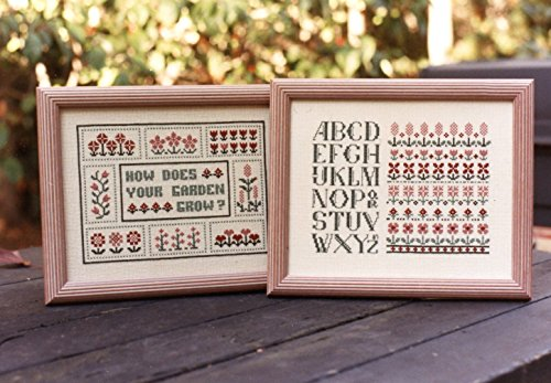 how-does-your-garden-grow-ann-taylor-nelson-counted-cross-stitch-chart-an-387