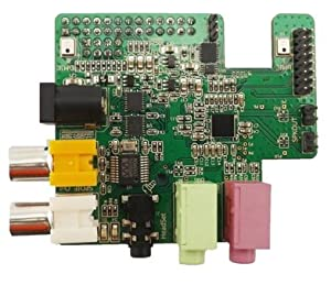 Wolfson Pi Audio Card for Raspberry Pi by Wolfson