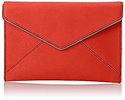 Rebecca Minkoff Leo Clutch, Poppy Red, One Size