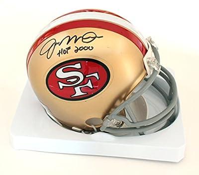 Joe Montana San Francisco 49ers Autographed Riddell Football Mini Helmet COA