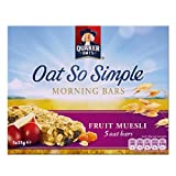 Quaker Oat So Simple Morning Bars - Fruit Muesli 5 Pack 5 x 35g