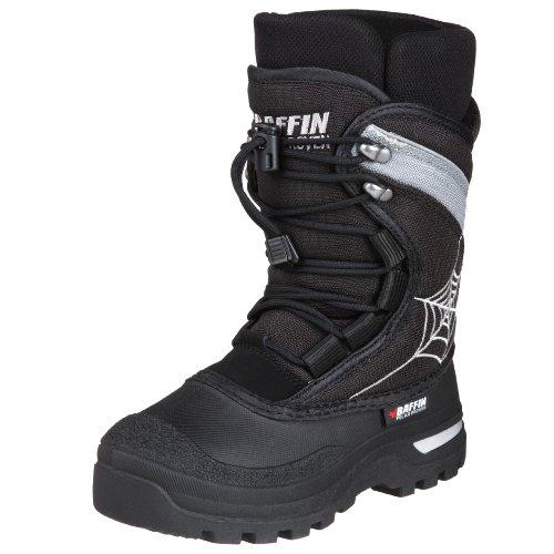 Baffin Black Widow Boot (Little Kid/Big Kid),Black,13 M US Little Kid