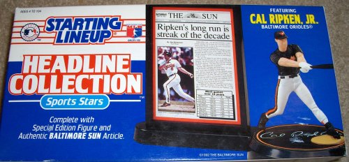 Cal Ripken Jr. 1993 MLB Headline Collection Starting Lineup
