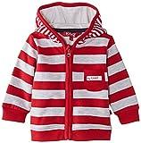 Kanz Unisex Baby Jacke Sweatjacke 1/1 Arm m. Kapuze 0003317, Gr. 86, Rot (tango red|red 2016)