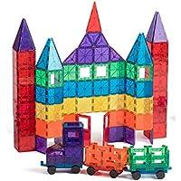 Playmags 100-Pc Magnetic Tiles Building Set