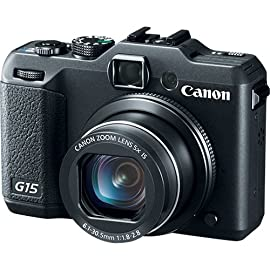 Canon PowerShot G15 Digital Camera (Black)