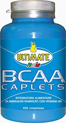Ultimate Italia BCAA Caplets Aminoacidi Ramificati - 100 Caplets