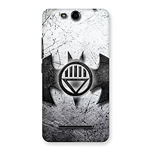 Cute Black Knight Shade Back Case Cover for Micromax Canvas Juice 3 Q392