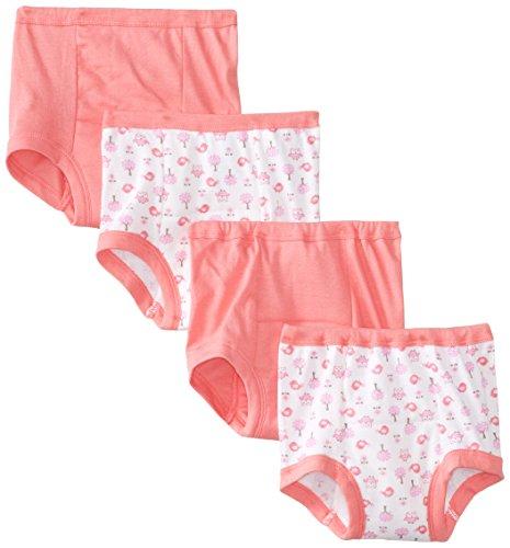 Gerber Little Girls'  4 Pack Training Pants