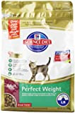 Hill's Science Diet Perfect Weight Dry Cat Food, 3-Pound