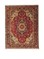 QURAMA Alfombra Persian Tabriz Rojo/Multicolor 304 x 205 cm