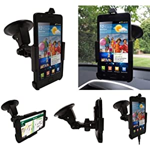 FoneM8 - Samsung Galaxy S2 i9100 Dedicated Windscreen Mount Car Holder Charger Kit