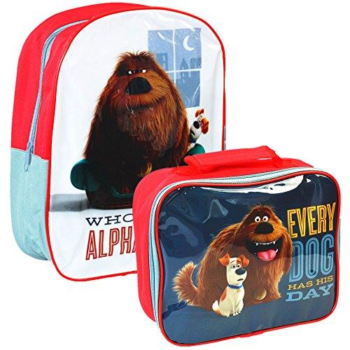 Universale® La vita segreta di animali domestici ufficiale bambini scuola viaggio borsa zaino e borsa Set