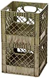Buddeez Autumn Tan Camouflage Crate (Pack of 2)