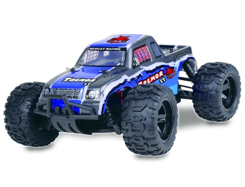 TREMOR ~ RC Truck ~ NEW 1/16 Scale ~ Brushed Electric ~ RTR ~ 4WD ~ by Redcat Racing ~ BLUE