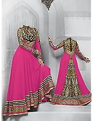 Typify Georgette Semistitch Dress Material