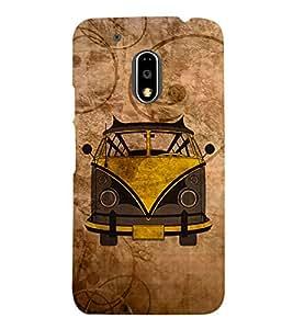 Oldest Van Zeep 3D Hard Polycarbonate Designer Back Case Cover for Motorola Moto G4 Plus :: Moto G4+ :: Moto G4