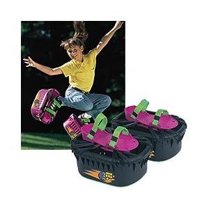 Amazon.com: Big Time Toys Moon Shoes Black: Toys & Games