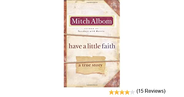 mitch albom have a little faith pdf e-books free  novels