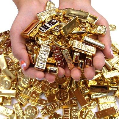 すくい用 金塊 ゴールドラッシュ 800g入
