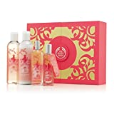 Gift Set Japanese Cherry Blossom Shower Moisture & Fragrance Set FOR Birthday-Wedding-Anniversary-Mothers Day-Xmas-Ramadan-Eid-Diwali-Thanks Giving-Graduation-Thank you etc