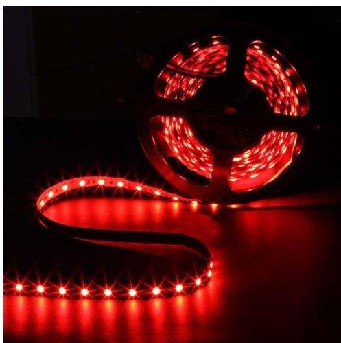 Epartsdom@ 16.4Ft 5M Smd 5050 Red Waterproof Led Flexible Flash Strip 300 Leds Led Light Strip 60Leds/M