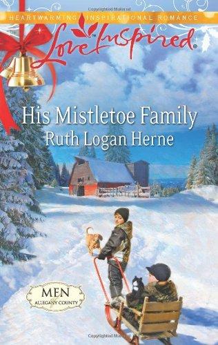 Image of His Mistletoe Family (Love Inspired)