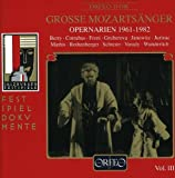 Great Mozart Singers, Vol. 3: Opera Arias 1961-1982