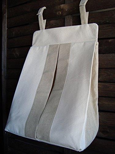 canvas-diaper-stacker-caddy-organizer-linen-diaper-holder-girl-boy-storage-bag-linen-diaper-stacker-