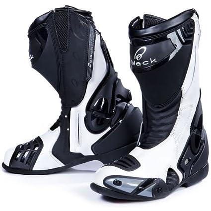 Black Venom Bottes pour moto