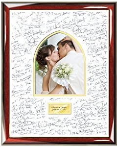 Amazon.com - Wedding Signature Picture Frame with Guestbook Persian