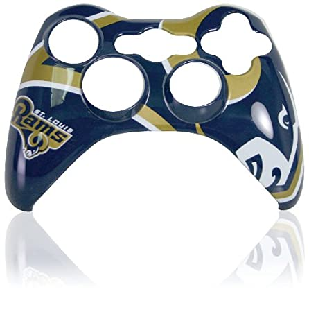 Xbox 360 Official NFL St. Louis Rams Controller Faceplate
