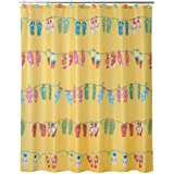 Allure Home Creations Sun and Sand Shower Curtain