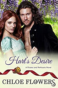 Hart's Desire: A Romantic Adventure Set In Charleston, Sc Just Prior To War Of 1812 by Chloe Flowers ebook deal