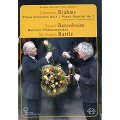 Europa Konzert From Athens: Johannes Brahms: Piano Concerto No.1 & Piano Quartet No. 1/Daniel Baren