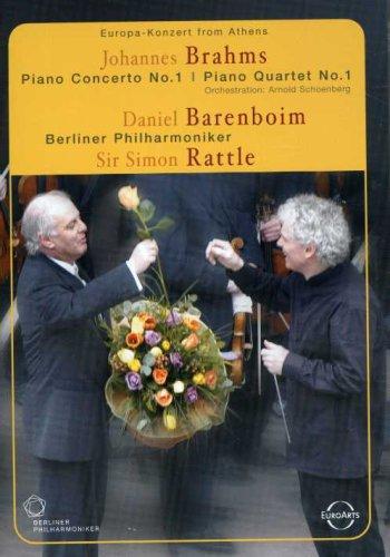Europa Konzert From Athens - Brahms: Piano Concerto No. 1 / Piano Quartet No. 1 (Orch. By A. Schoenberg) ~ Daniel Barenboim