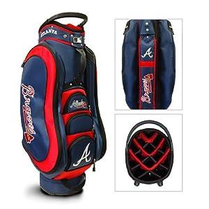 Atlanta Braves MLB Cart Bag - 14 way Medalist - TGO-95135 by Team Golf