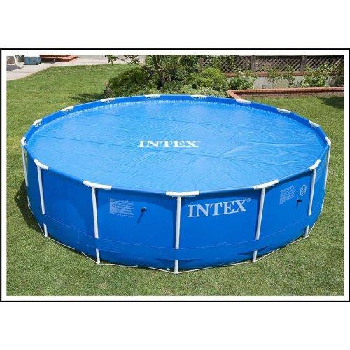 intex solarabdeckplane f r easy frame pool blau 305 cm kinderpools kinderpools. Black Bedroom Furniture Sets. Home Design Ideas